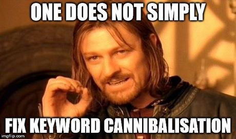 Keyword Cannibalization Finder Google Sheet