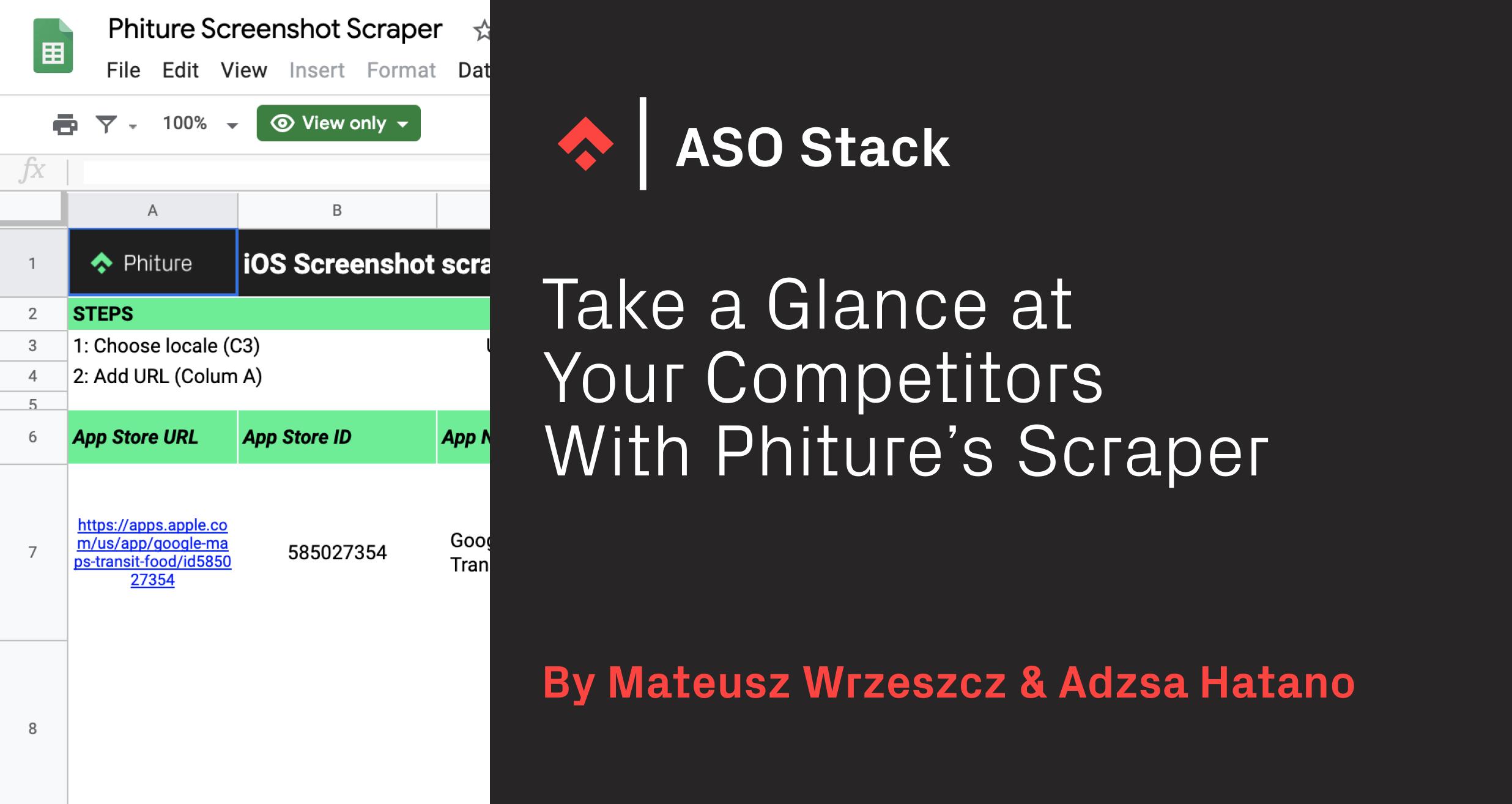 Phiture Screenshot Scraper