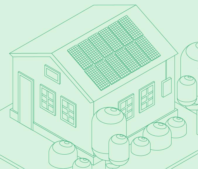 24 panel home illustration