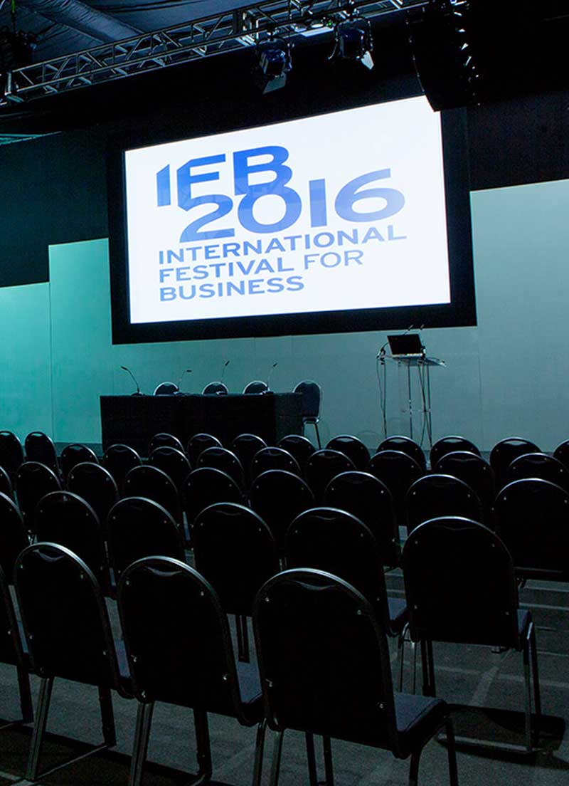 Conference Stage Set Hire UK