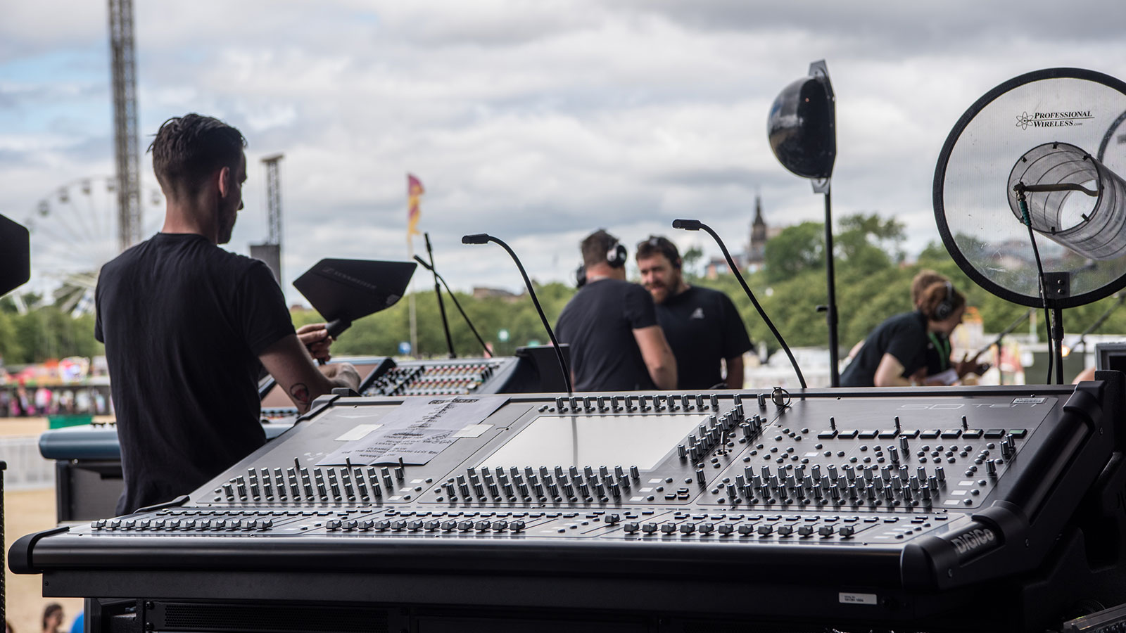 Audio Equipment Rental UK