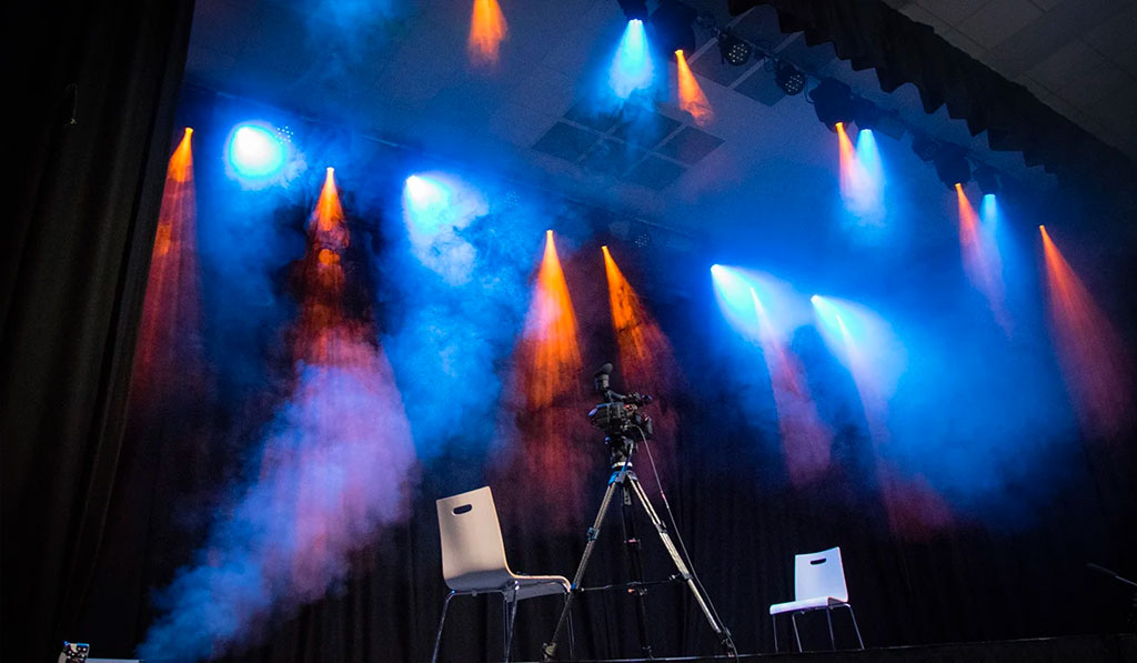 School Theatre Lighting System Installation