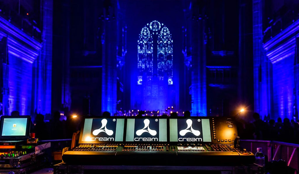 Liverpool Cathedral Lighting Hire
