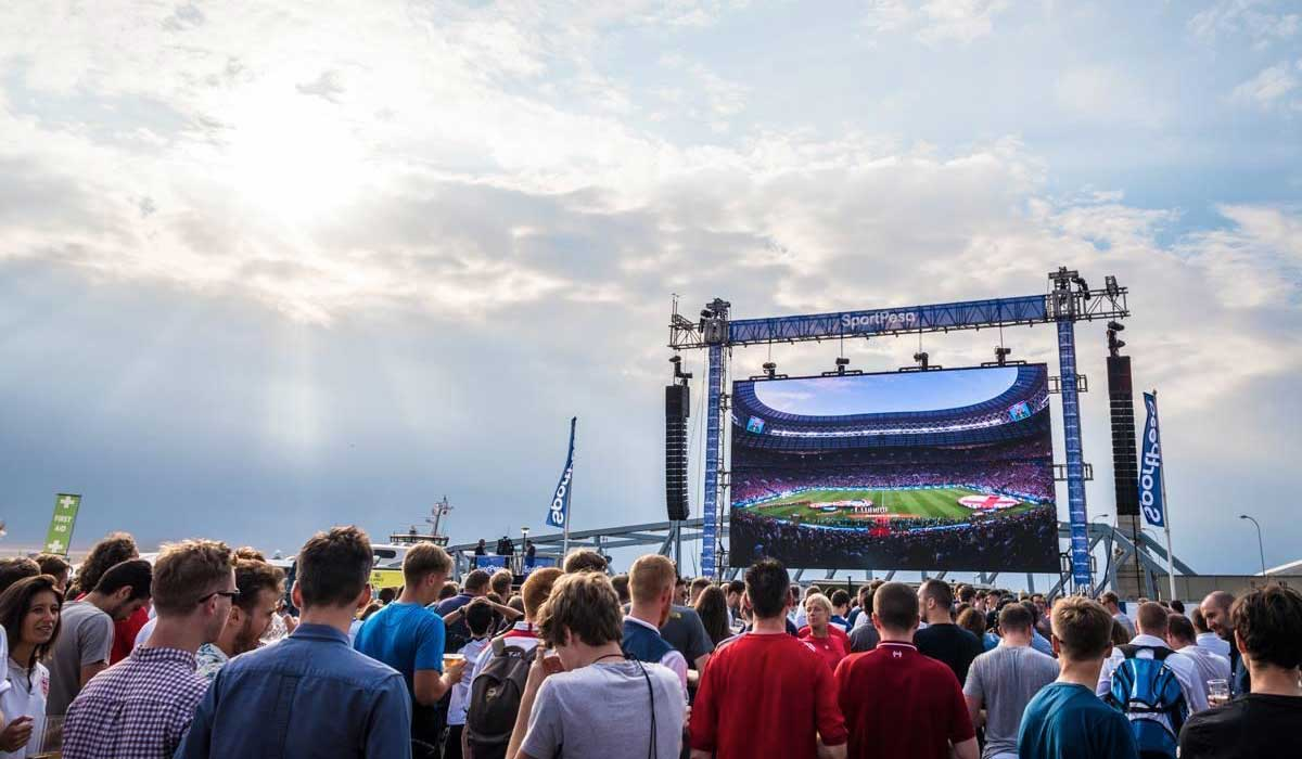 Outdoor LED Screen Hire Liverpool