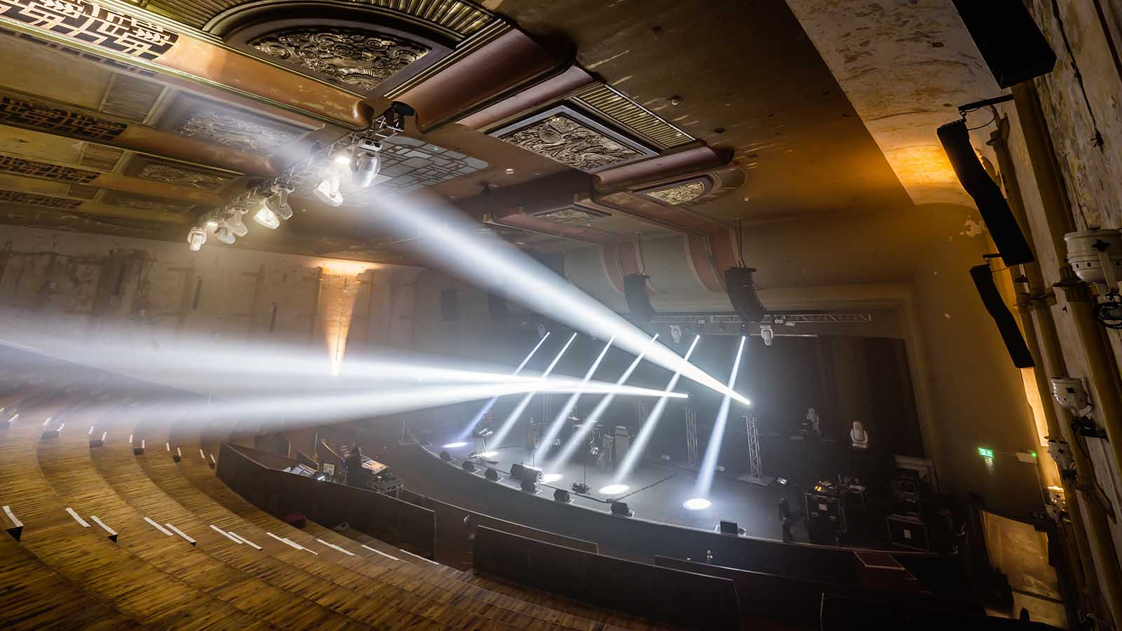 Stage Lighting, Sound, and Video Installation for Theatres & Venues