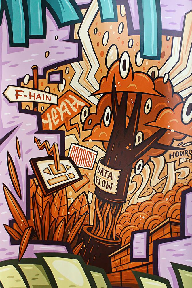 Immobilienscout24 Graffiti