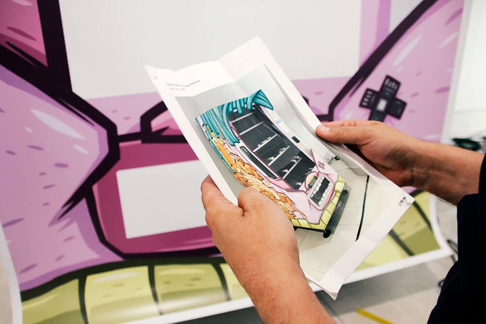 Immobilienscout24 Graffiti Konzept