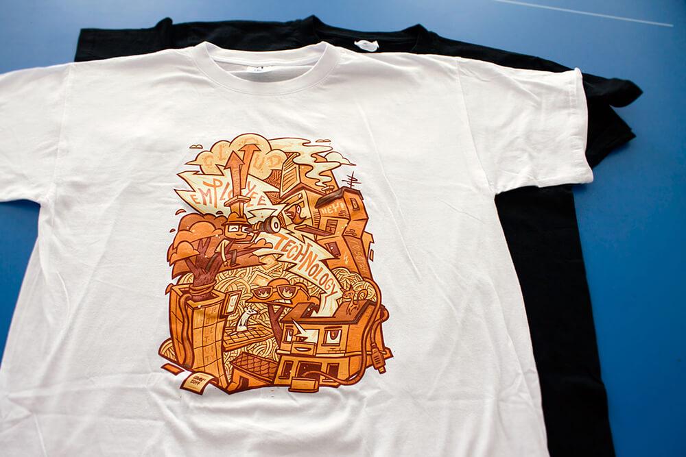 Immobilienscout24 T-Shirt Design