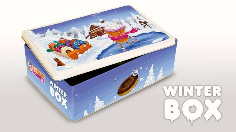 DUNKIN' Winterbox Verpackungsentwicklung