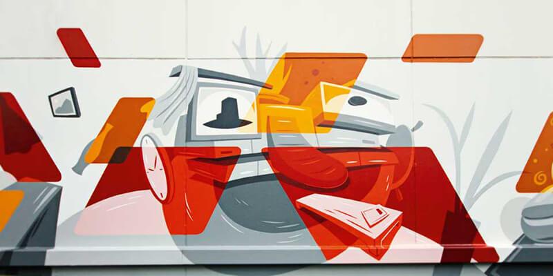 MÖBELKRAFT: Graffiti Illustration