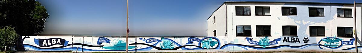 ALBAGROUP: Graffiti Wand