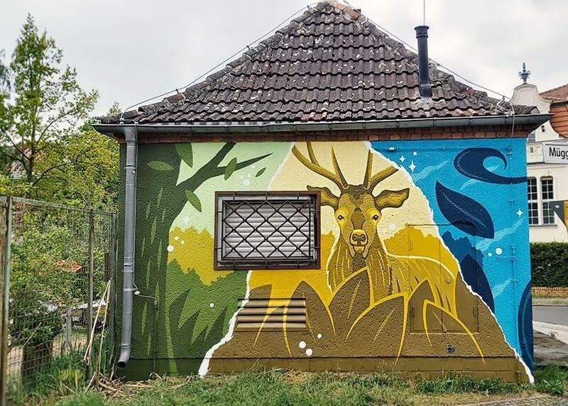 Versorgungsunternehmen GASAG: Graffiti Art