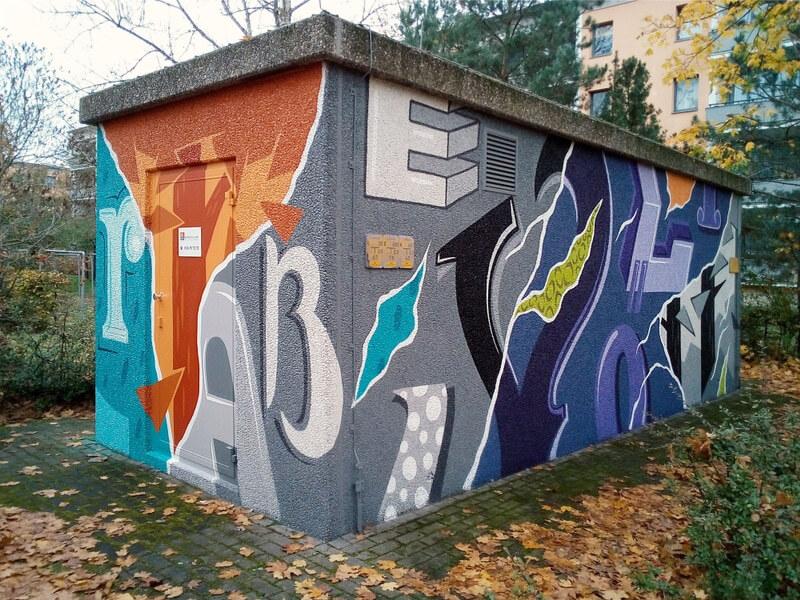 GASAGStrom & Gas: Graffiti Kunst