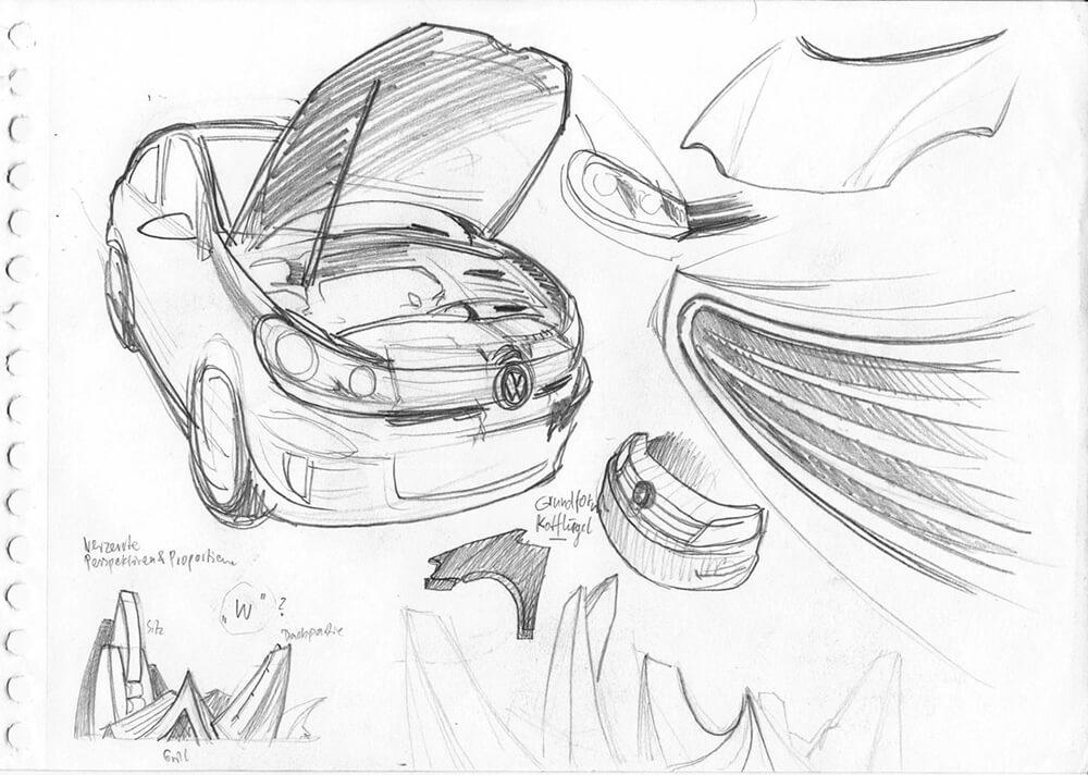 VW Entwurfsideen