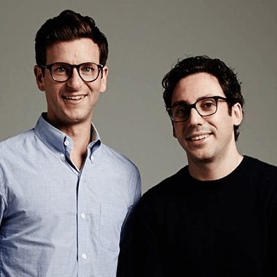 Dave Gilboa and Neil Blumenthal