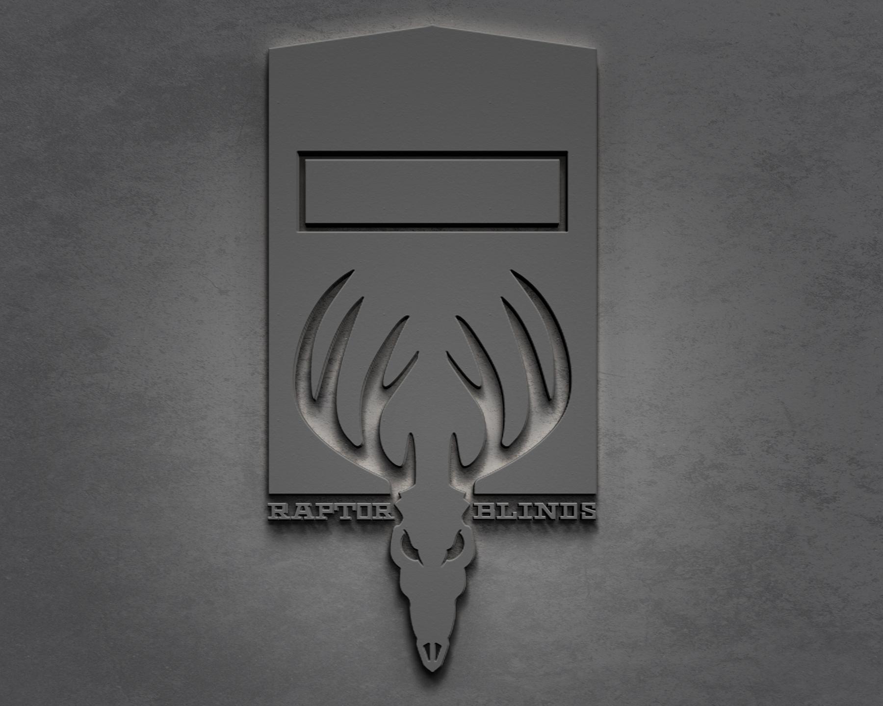 Raptor Blinds Logo Mock up