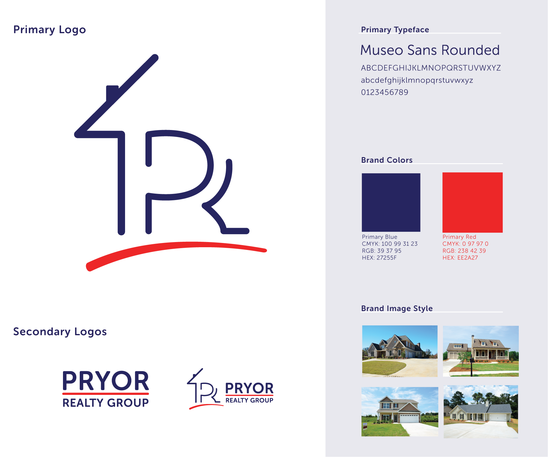 Pryor Realty Logo Style Guide