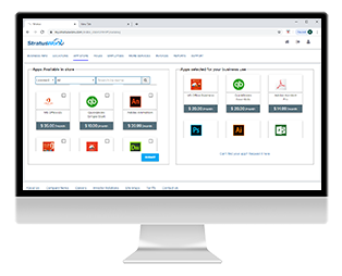 StratusWorX Cloud Workspace Admin Portal