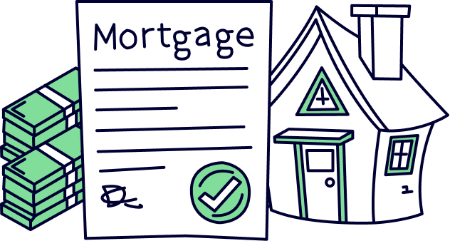 Mortgage in principle for a property