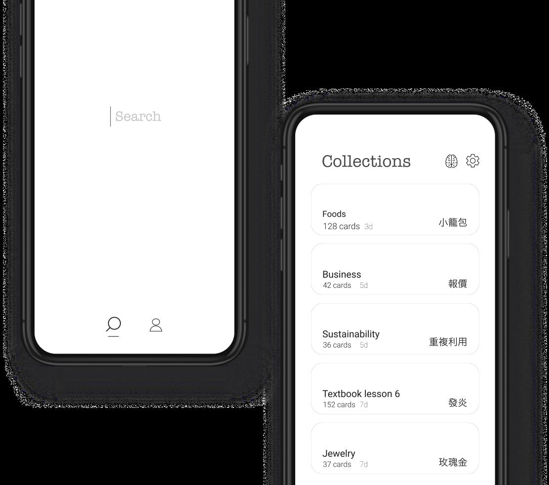 Screenshot showing Serica main features