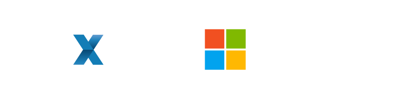mext and microsoft logo
