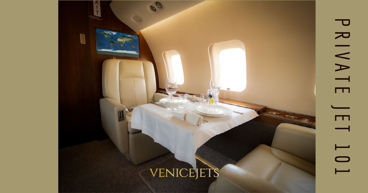 Private Jet 101: Catering