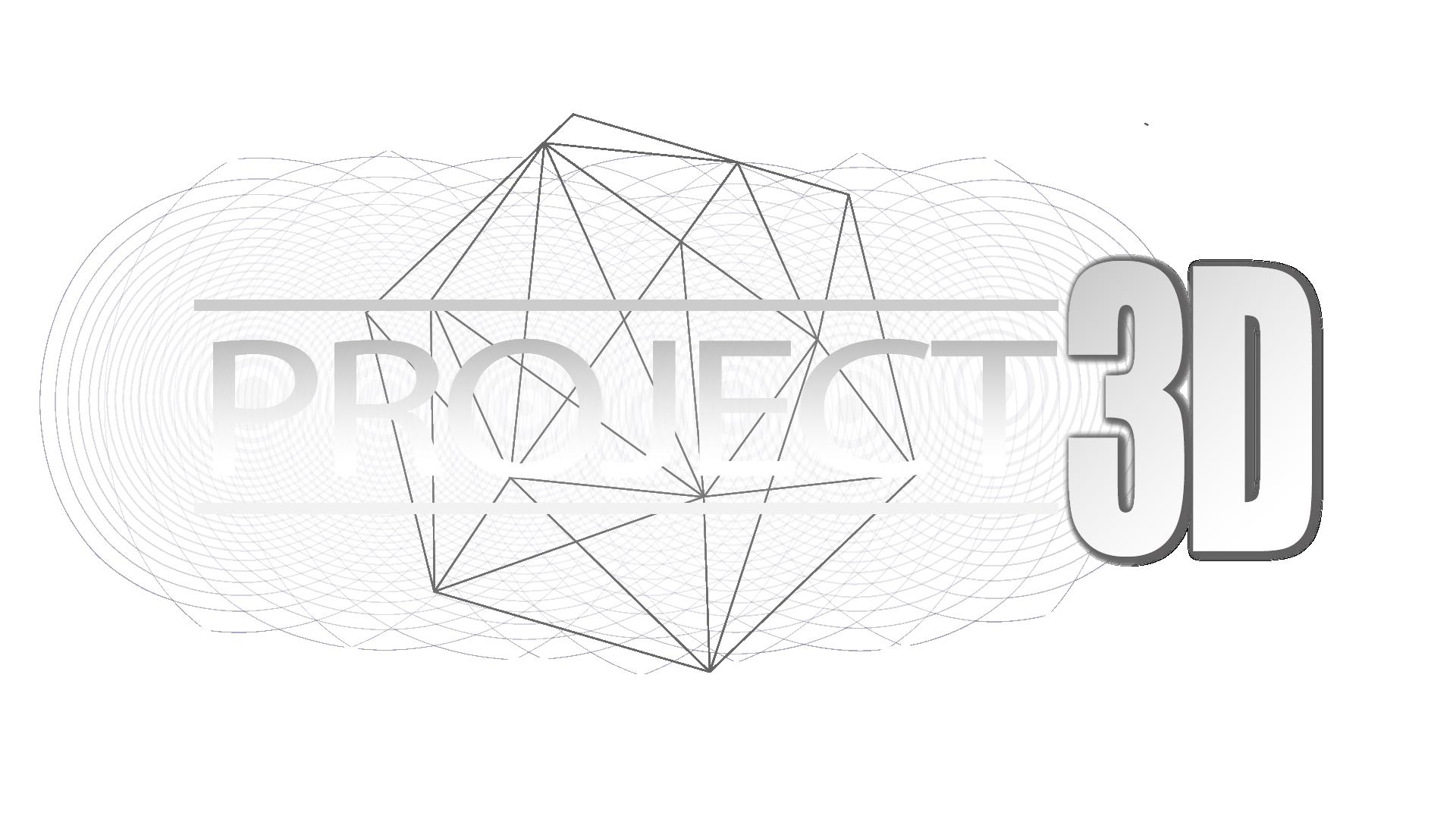 Project 3D logo