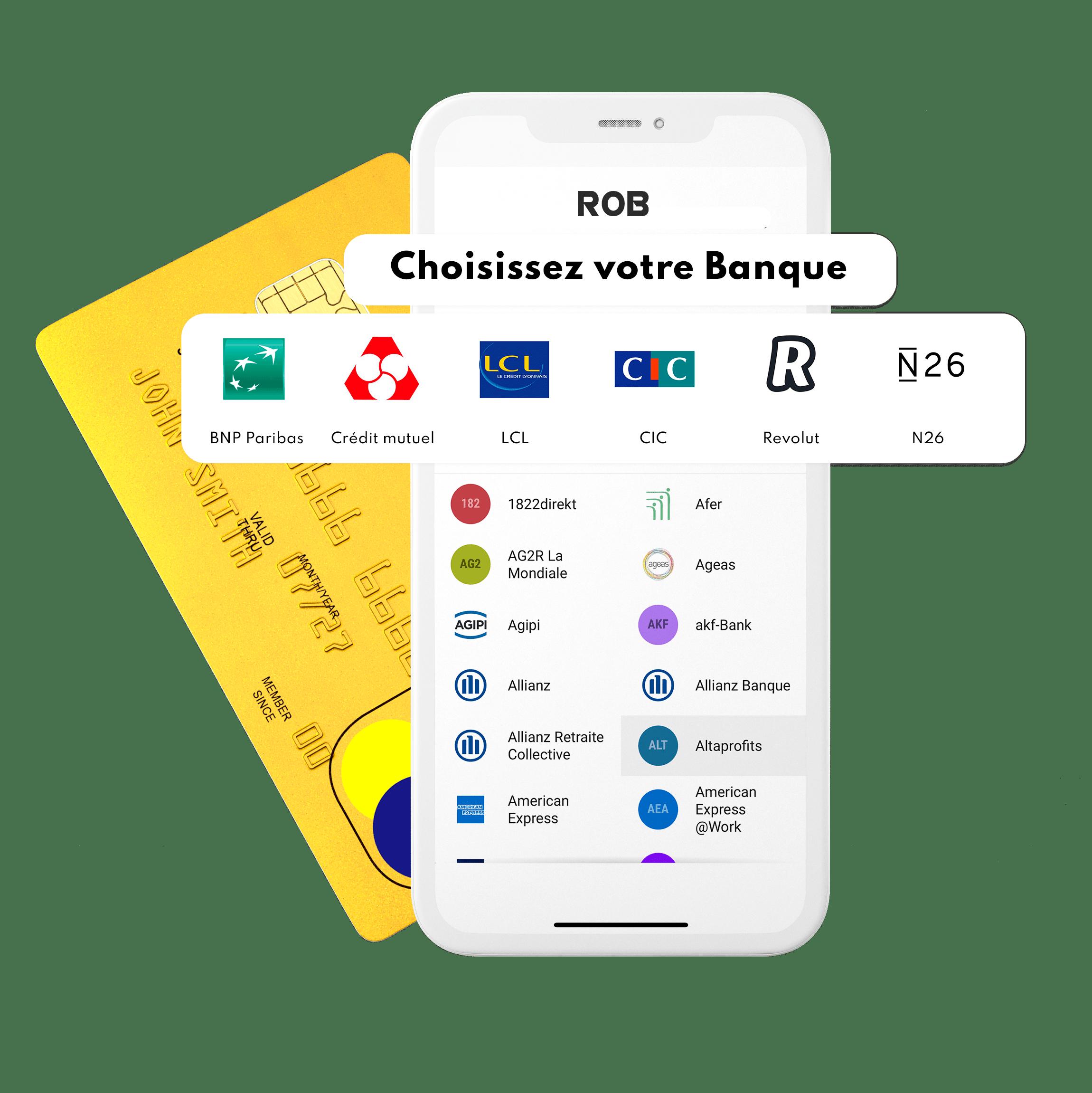 ROB carte bancaire