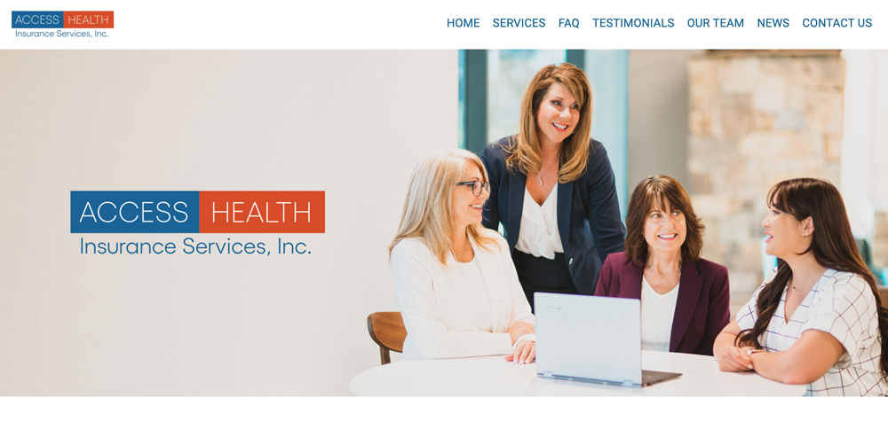 Access Health Insurance Services Website