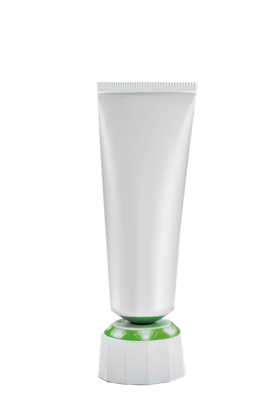 An image of a white ointment tube