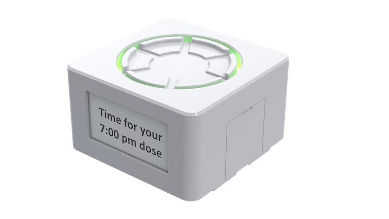 An image of the MyAide smart dock product