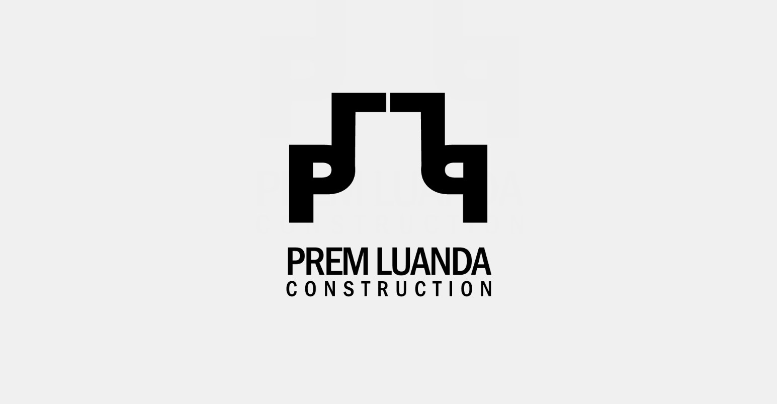 Logo design for Prem Luanda Construction
