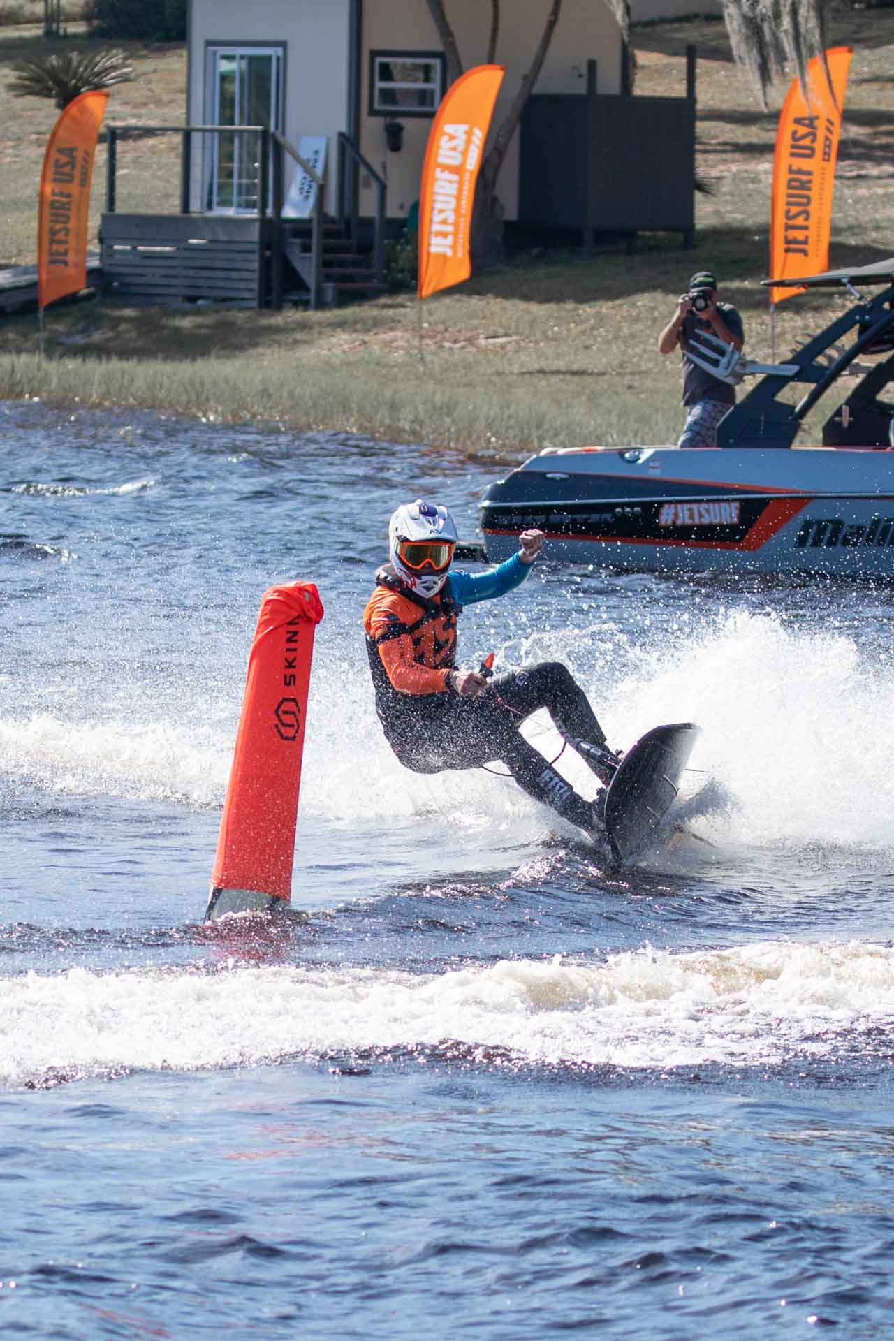 Fire digital content picture of Jetsurf rider