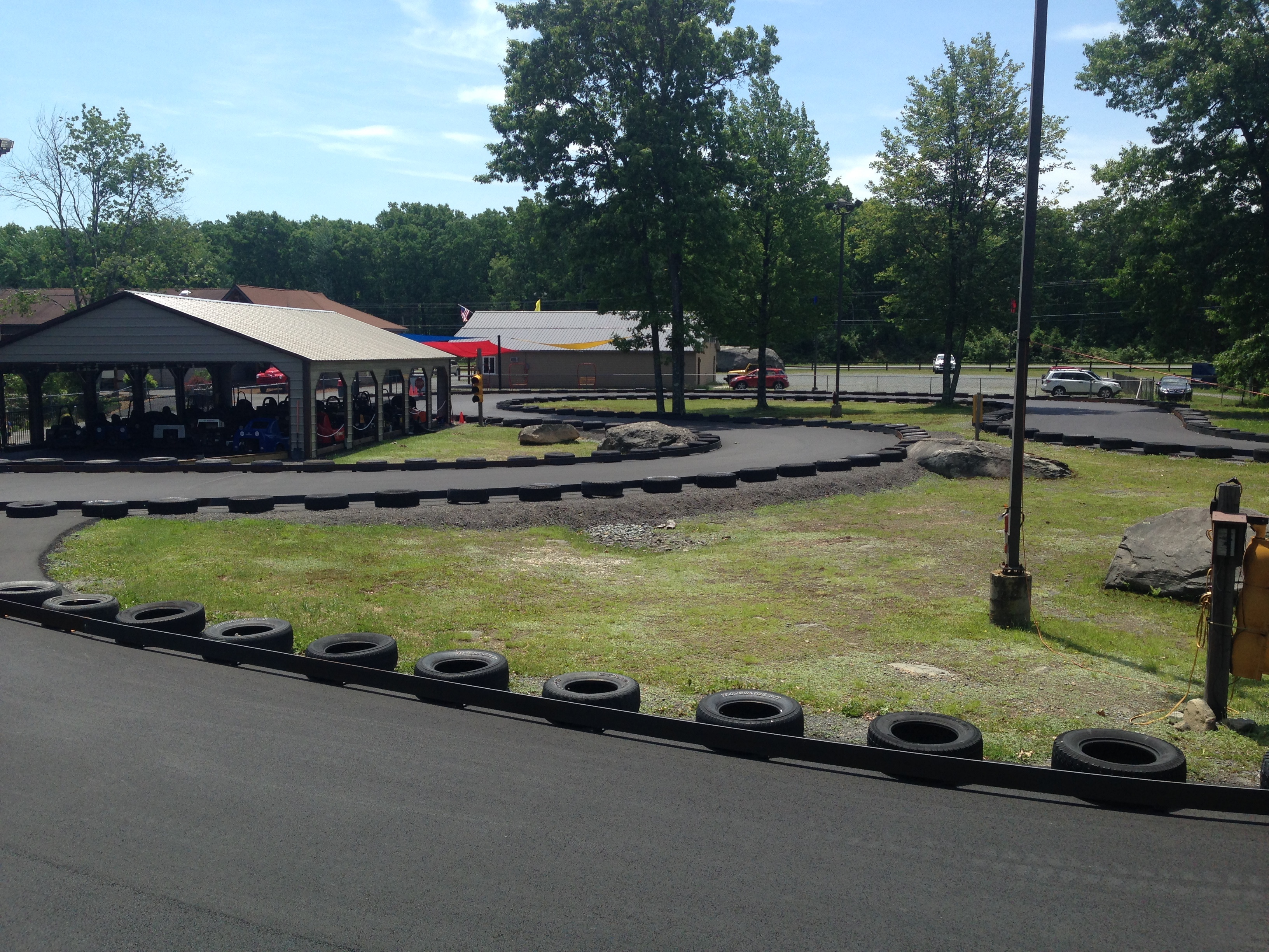 Go Kart track at Costa's