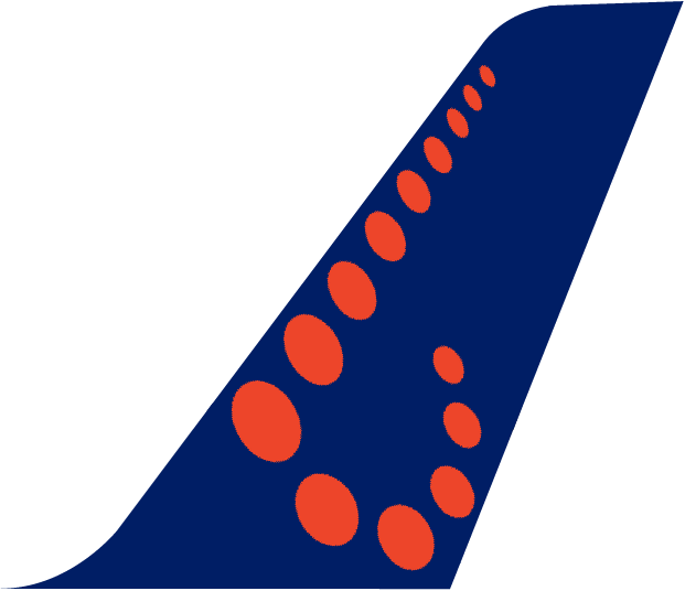 Brussels Airlines Plane Tail