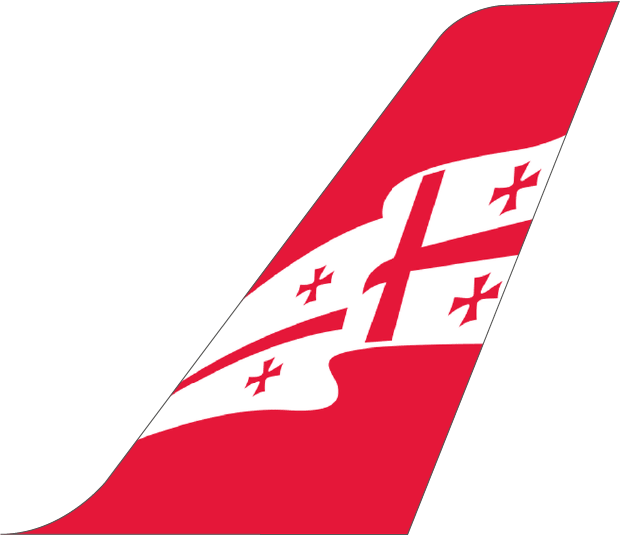 Georgian Airways Plane Tail