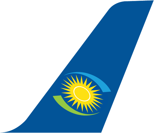 Rwandair Plane Tail