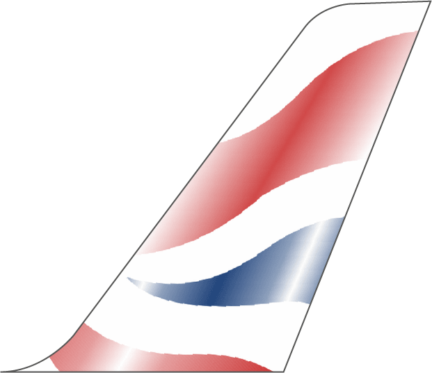 British Airways Plane Tail