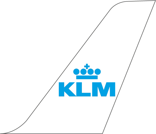 KLM Royal Dutch Airlines Plane Tail