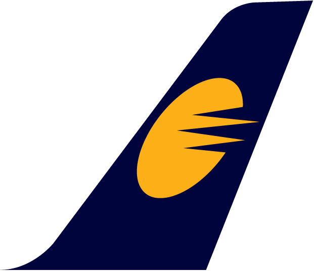 Jet Airways Plane Tail