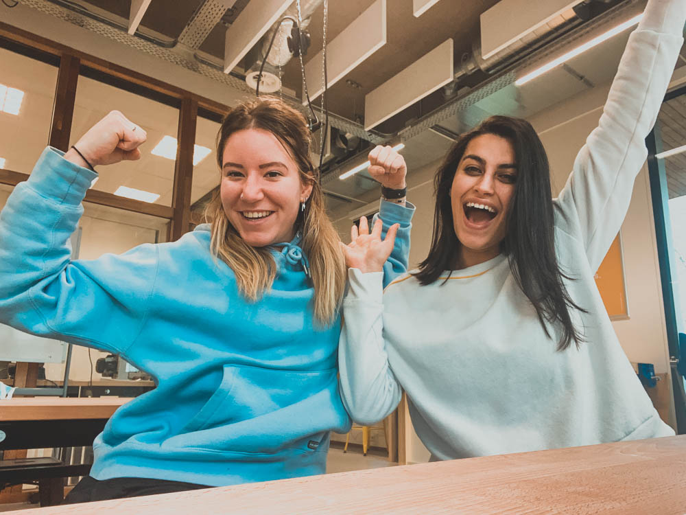 Embrace students Ilse & Derya created a vitality week