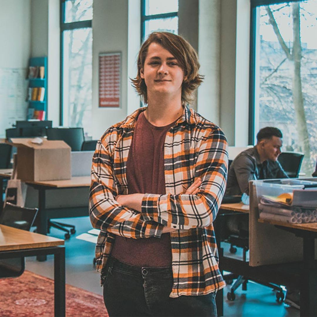 Empower student Merlijn van der Veen