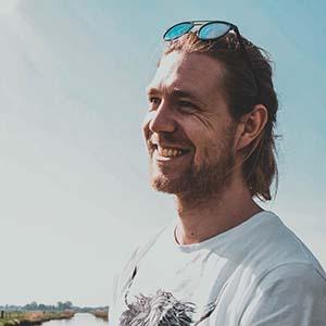 Ijsbrand Geutjes portrait image.