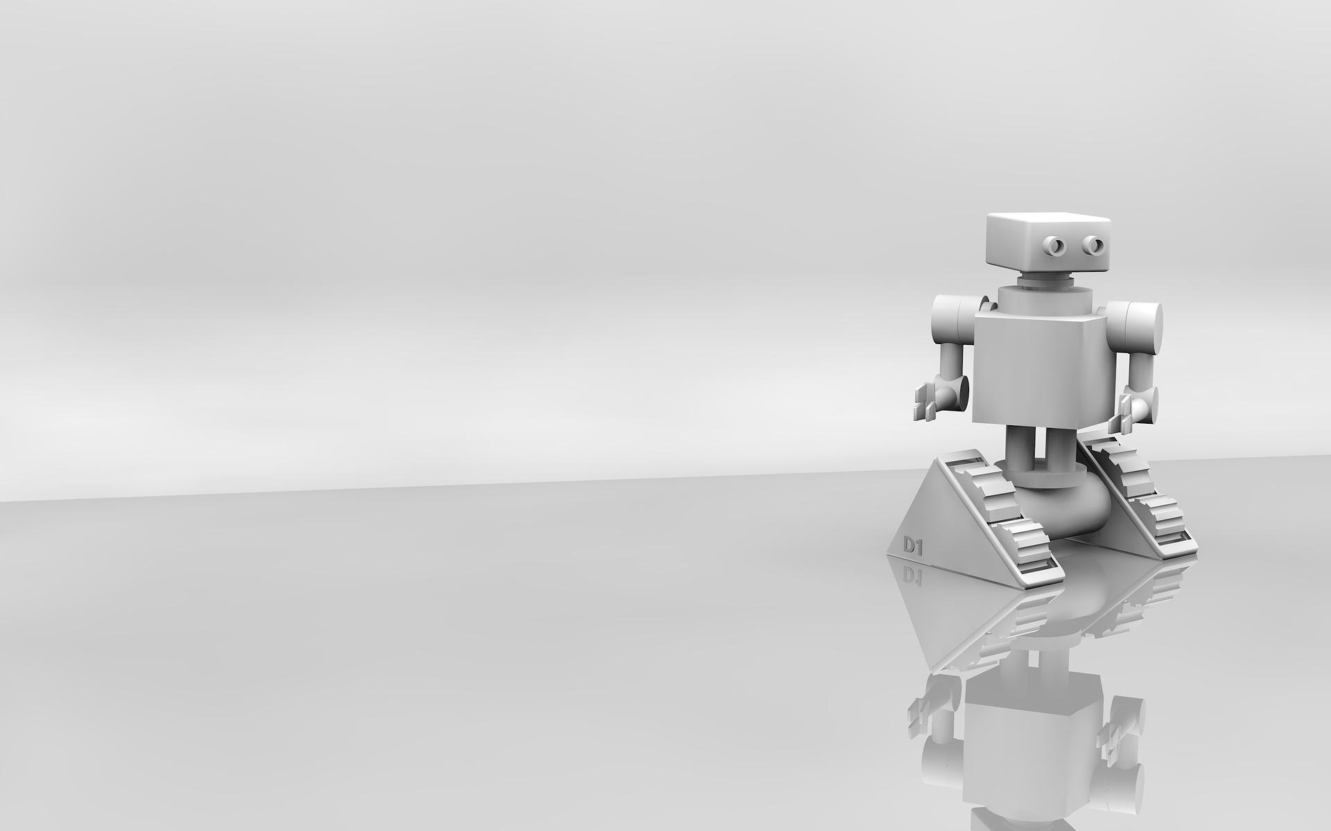 의료산업 디지털 마케팅 결론 - 로봇