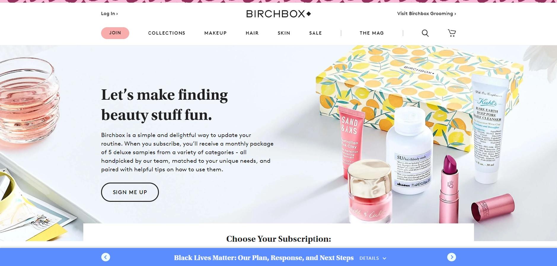 인바운드 마케팅 방법 - 버치박스