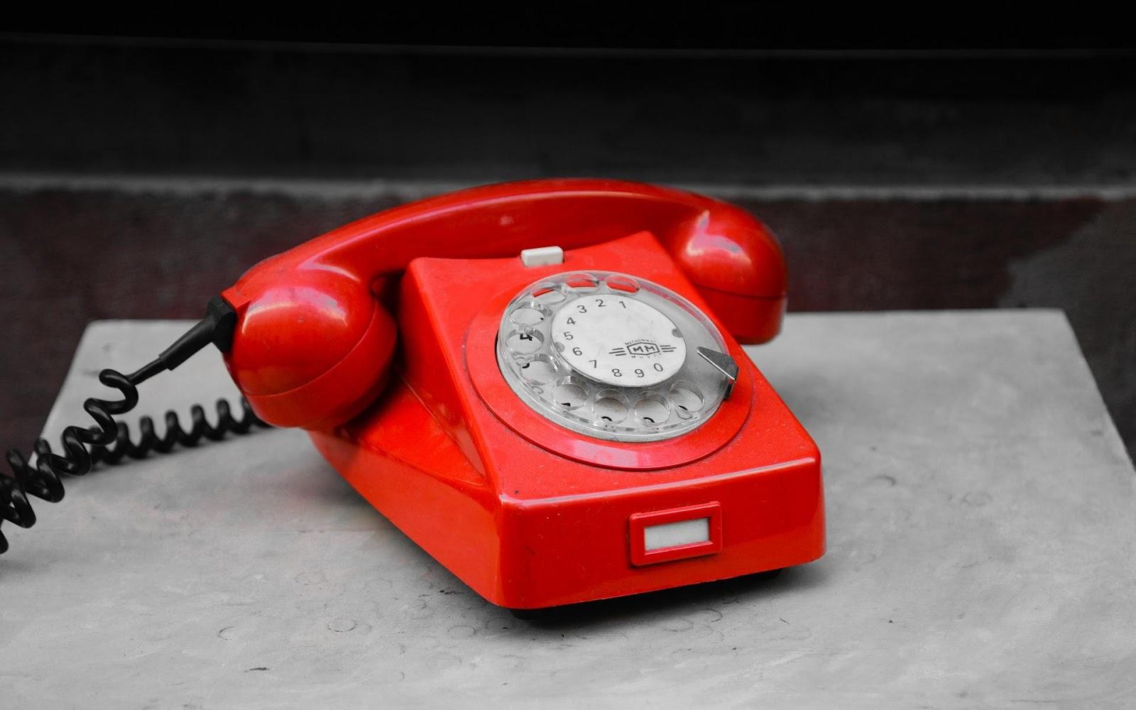 아웃바운드 마케팅의 사례 - 전화기