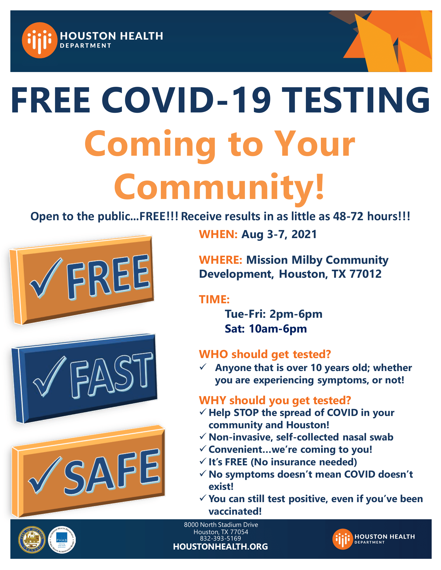 English flyer for 2nd dose of COVID-19