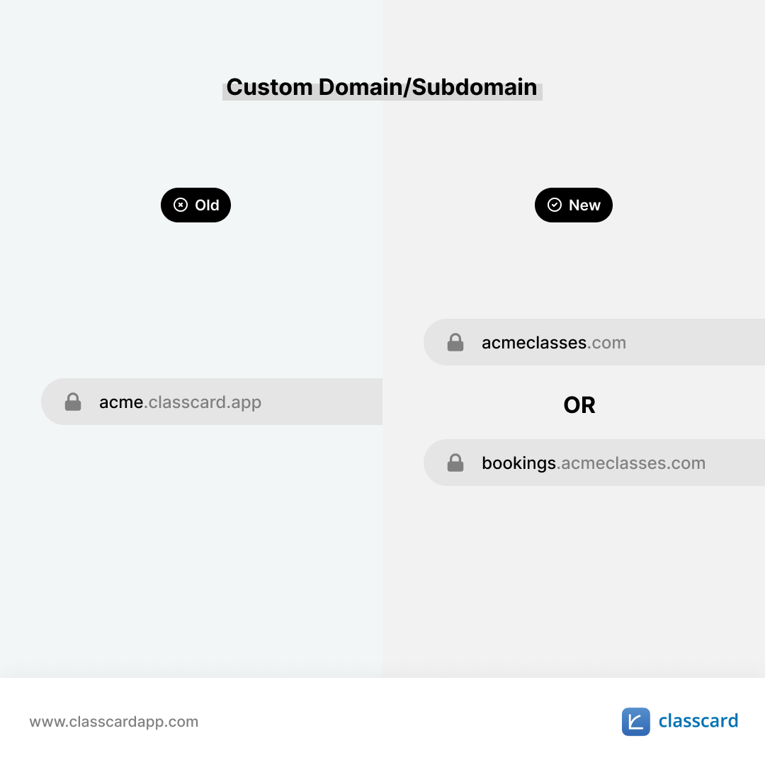 Custom Domain/Subdomain