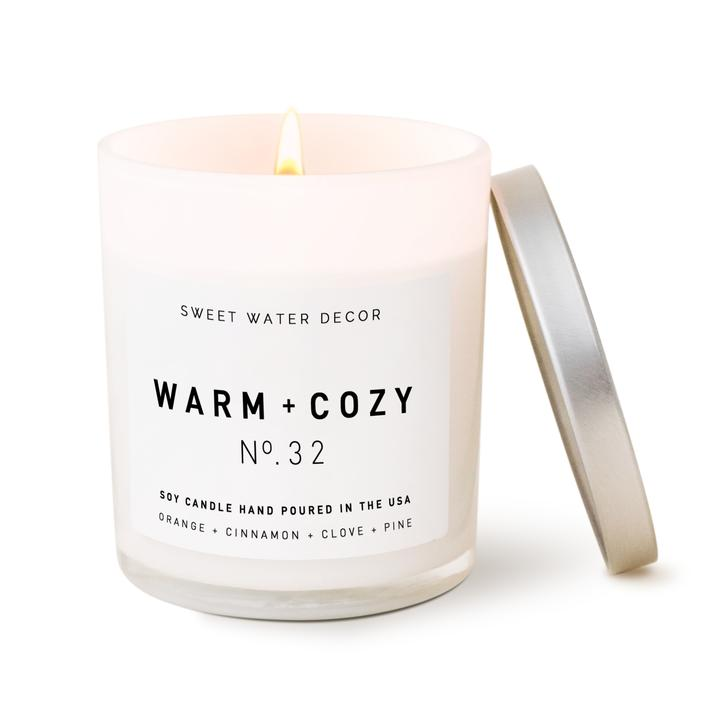 Warm + Cozy Soy Candle