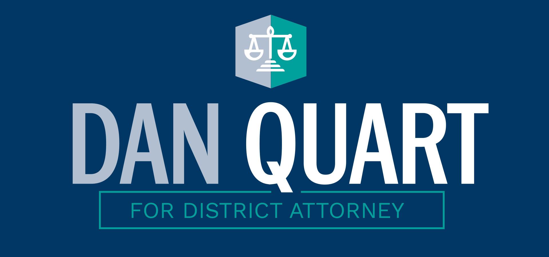 Dan Quart for Manhattan District Attorney logo